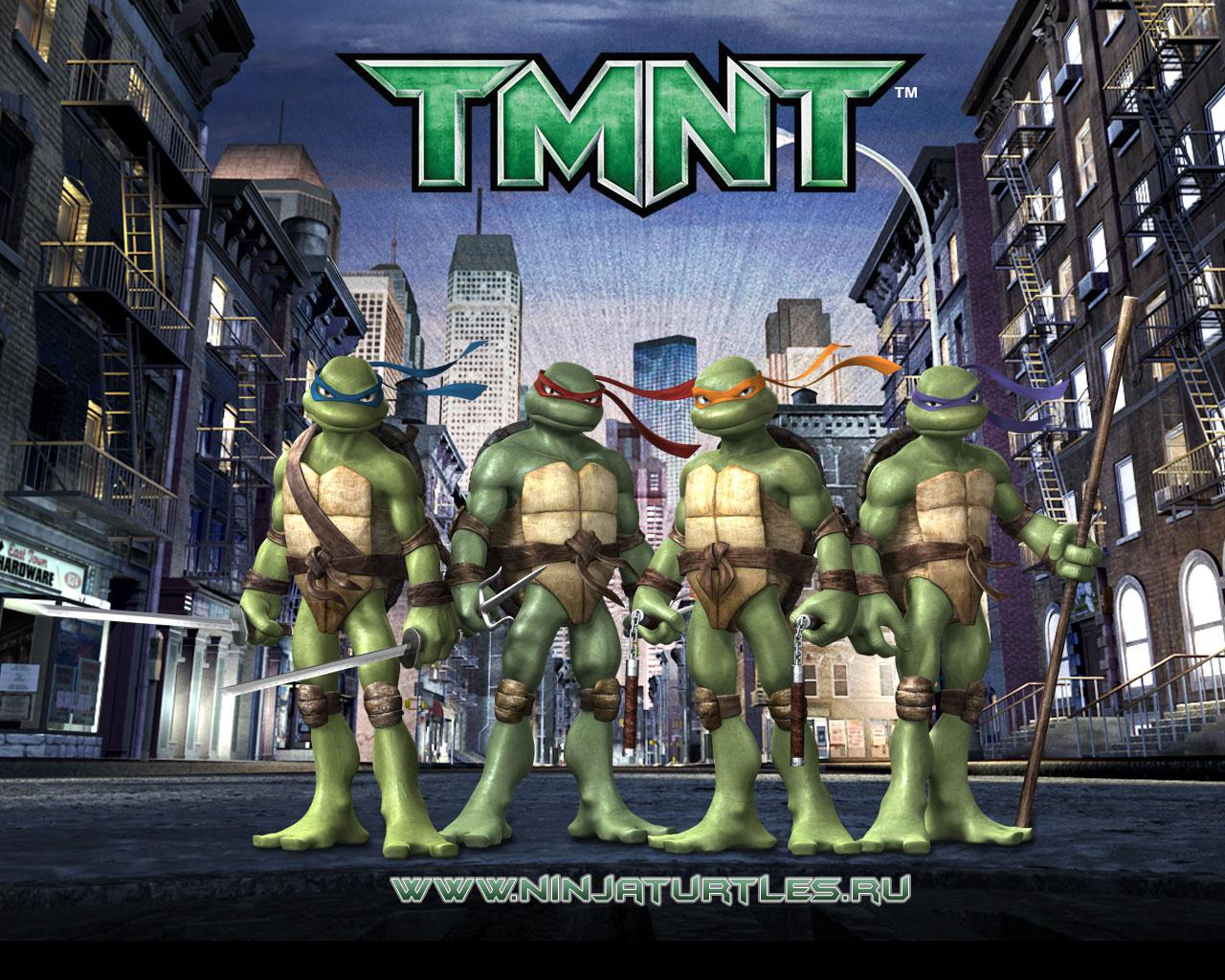 teenage mutant ninja turtle games - HD1280×1024