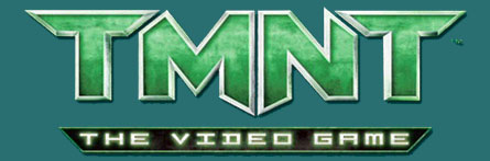 TMNT The video game (logo)