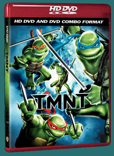 TMNT 2007 HD DVD