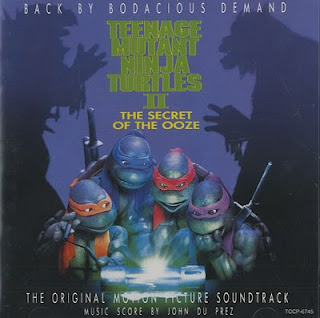 Teenage Mutant Ninja Turtles II: The secret of the Ooze (OST)