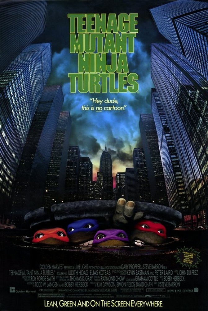 Teenage Mutant Ninja Turtles I (poster)