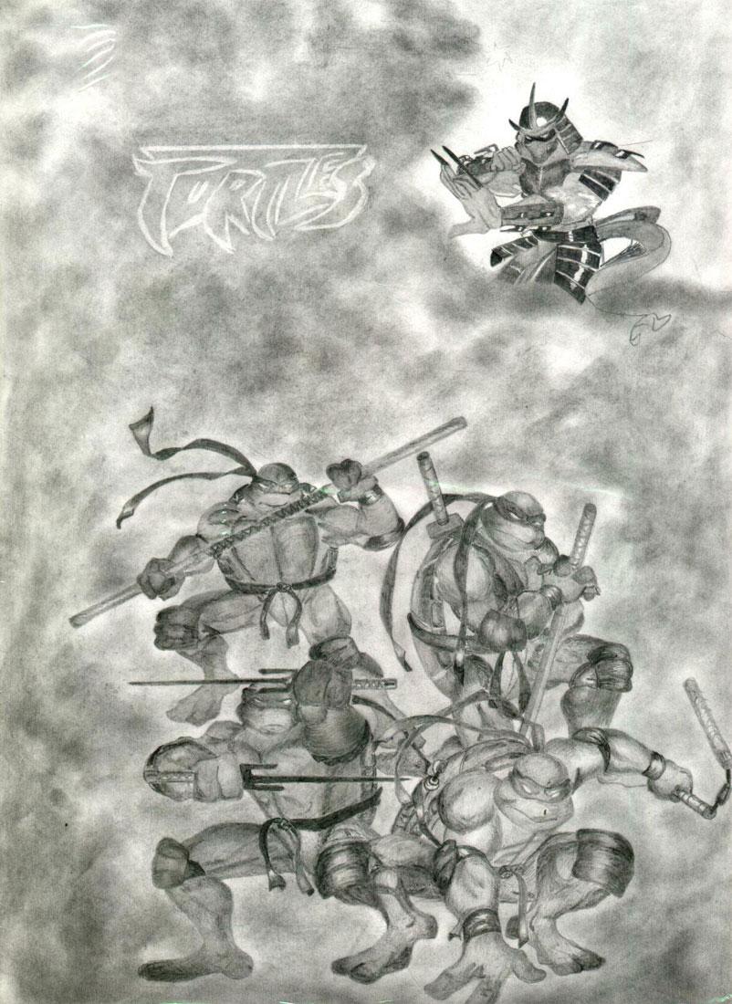 Shredder, TMNT (by Yulia, Ulianovsk)