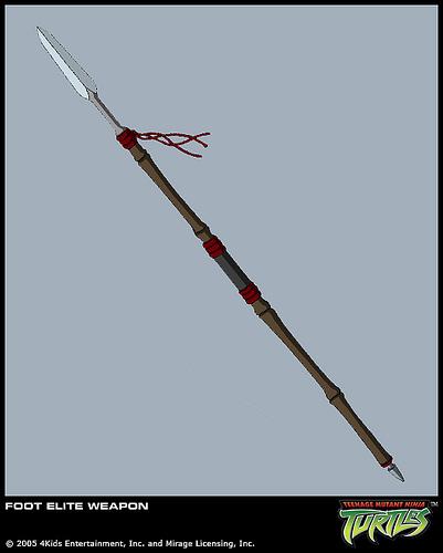 Foot Elite's spear