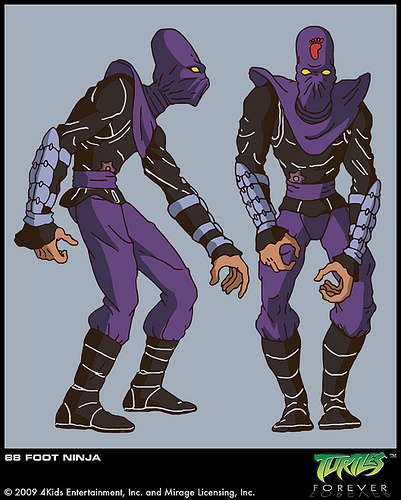 Android Foot Ninja from Turtles Forever (1)