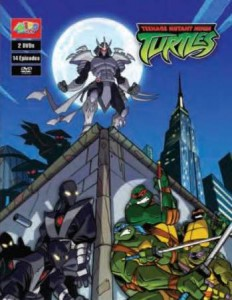 TMNT 2003-2009 - season 1 (DVD cover)
