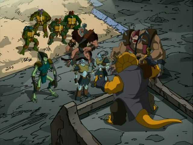 30. Turtles in Space - Part Four. ''The Arena'' (3)