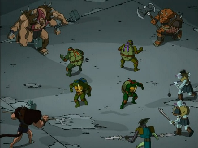30. Turtles in Space - Part Four. ''The Arena'' (4)