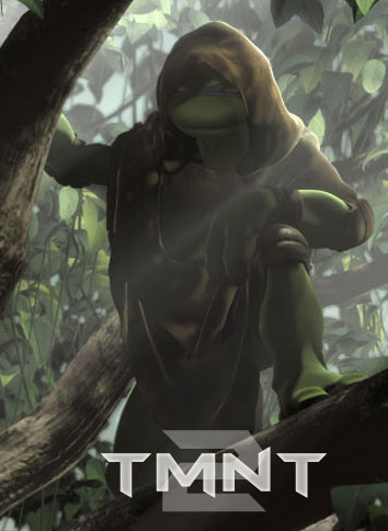 TMNT 2 (poster-fake)
