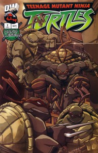 TMNT Dreamwave (issue #7 cover)