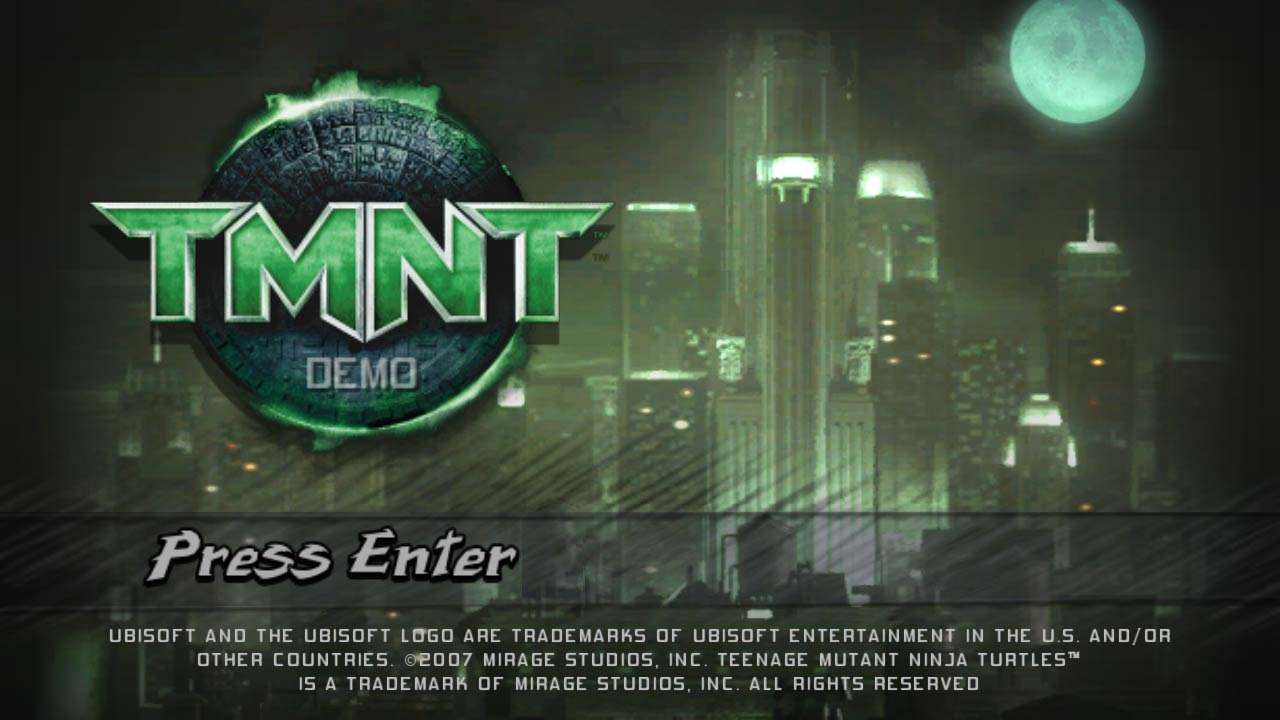 TMNT 2007 The video game (1)