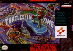 Turtles in Time cover