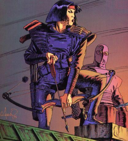 Karai from comics (1)