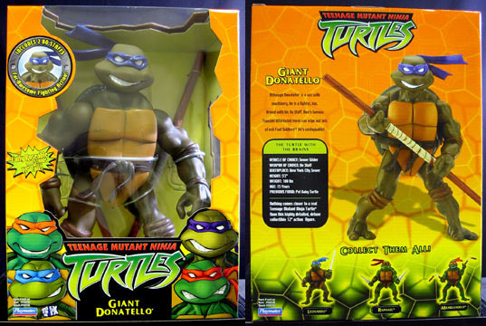 Giant Donatello's figure (2003)