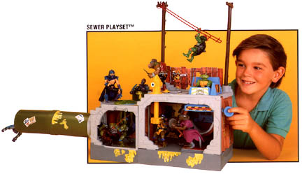 Sewer playset (1989)