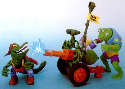 Cannon, Bonafrog мы Leatherhead (1990)