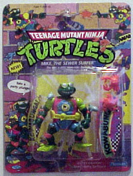 Mike, the sewer surfer's figure (1990)