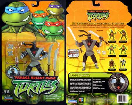 Ninja Foot's figure (2003)