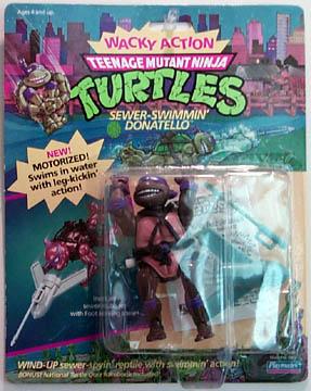 Sewer-swimming Donatello's figure (1989)