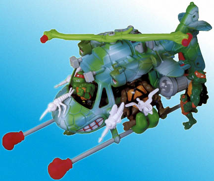Turtles' helicopter (1990)