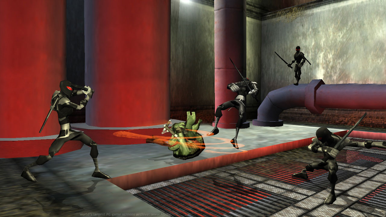 TMNT 2007 The video game screen07