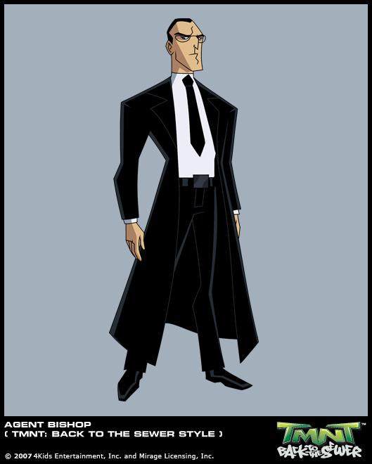 Agent Bishop 2008 (concept)
