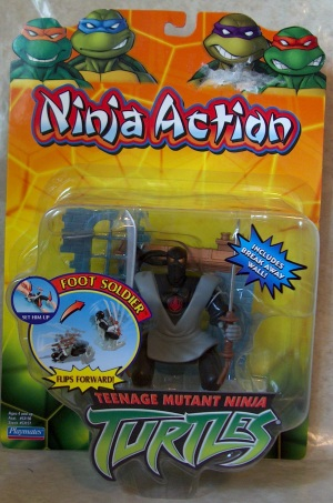 Ninja Action Foot Soldier in box
