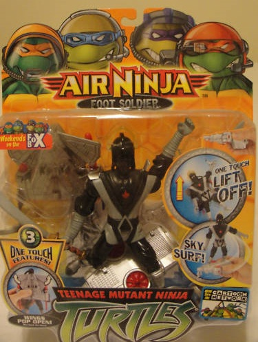 Air Ninja Foot Soldier in box