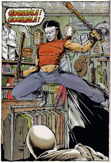 Casey Jones from comics (2)