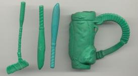 Casey Jones 1989 accessories