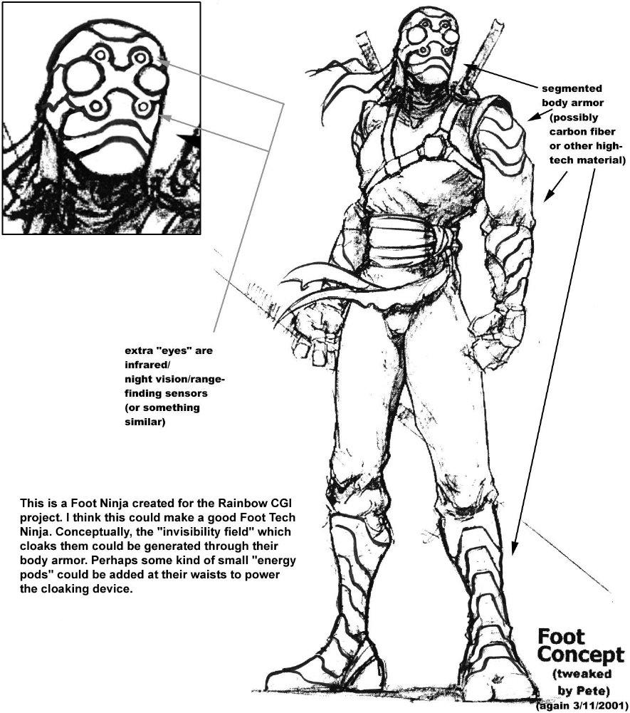 Foot Ninja concept for Rainbow Studios