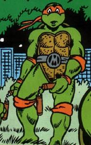 Michelangelo from comics (5)