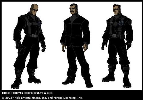 Agent Bishop's soldiers (1)