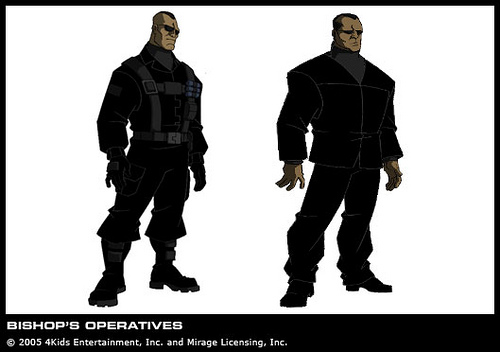 Agent Bishop's soldiers (2)