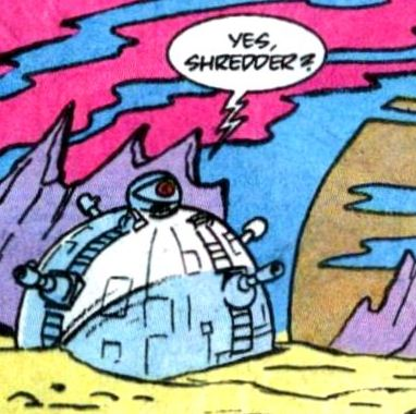 The Technodrome from comics