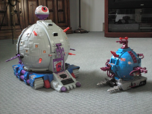 The Technodrome & Technodrome Scout Vehicle