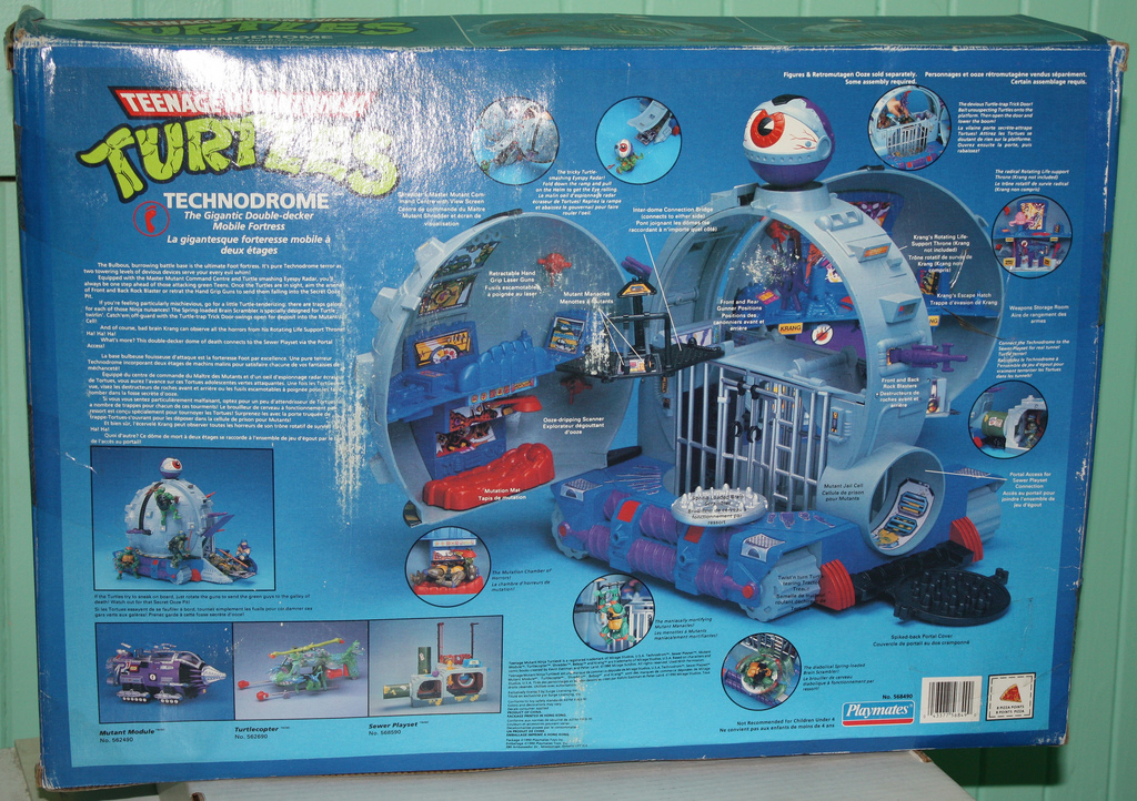 The Technodrome in box