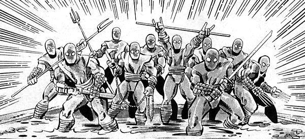 Foot Clan from comics (2)