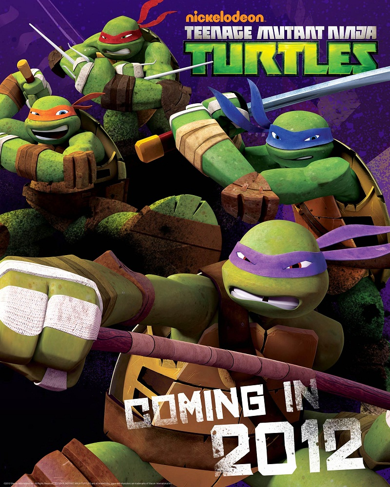 TMNT 2013 from Nickelodeon (poster)