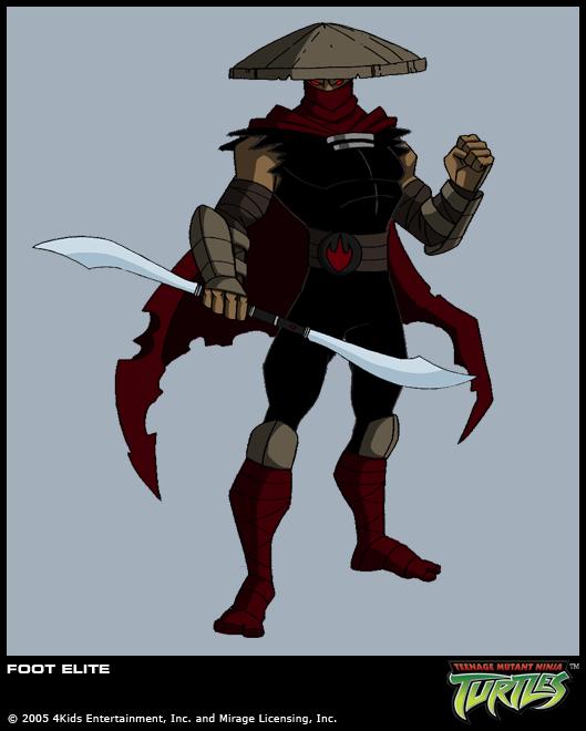 Elite Ninja Foot (concept)