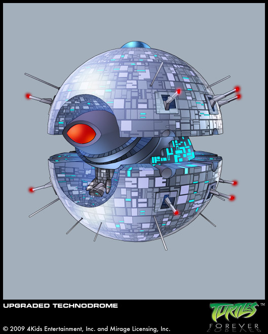 Upgraded Technodrome (concept)