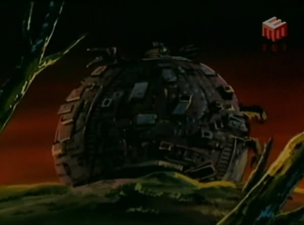 The Technodrome from season 10