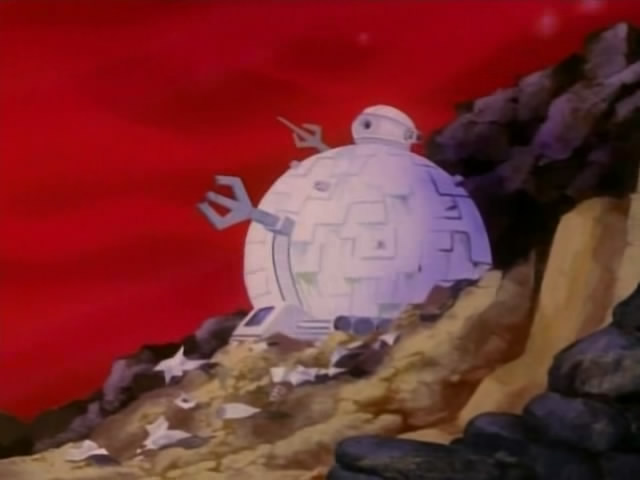 The Technodrome from season 4