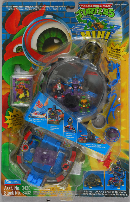 Mini-Mutant Tokka Technodrome Playset (1)