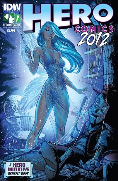"Cpmica anthology ""Hero Comics 2012"""
