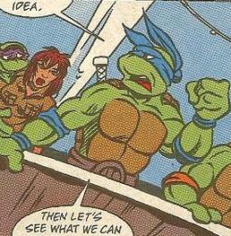 Leonardo from comics (5)