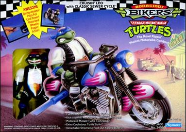 Cruisin' Leo with Classic Sewer Cycle (in box)