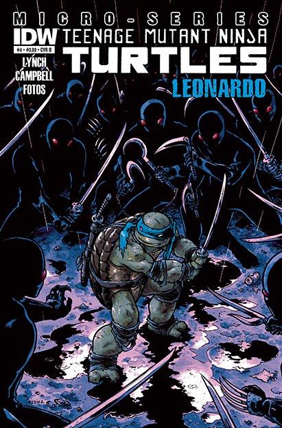 IDW Micro Series. Leonardo (cover)