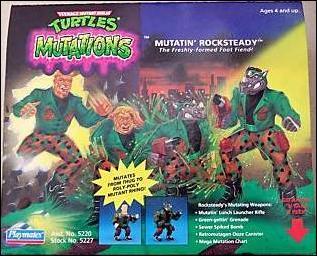 Mutatin' Rocksteady (in box)