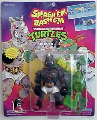 Power Punchin' Rocksteady (in box)