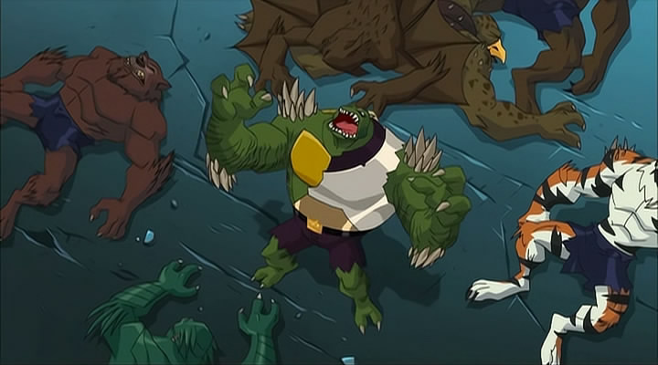 Tokka & Razar (from Turtles Forever) 2